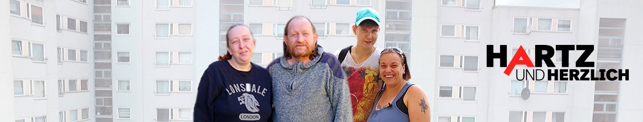 Die RTL II-Sendung Hartz und herzlich