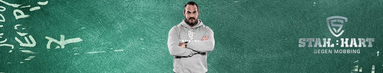 Stahl:hart gegen Mobbing: Anti-Mobbing-Coach Carsten Stahl hat Mobbing den Kampf angesagt.