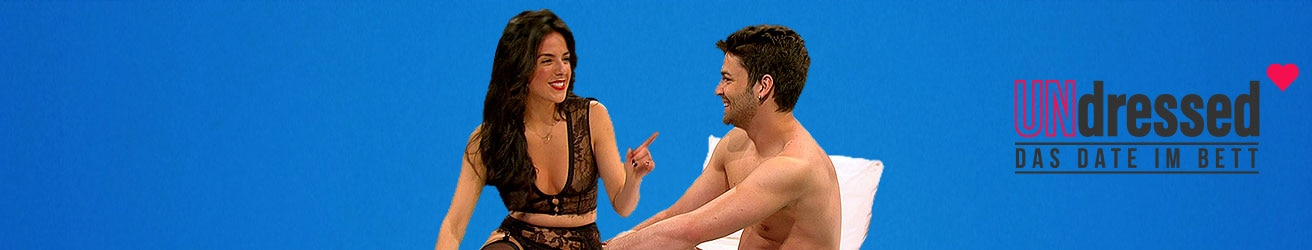 """Die Sendung """"UNdressed - Das Date im Bett"""" bei RTL 2"""