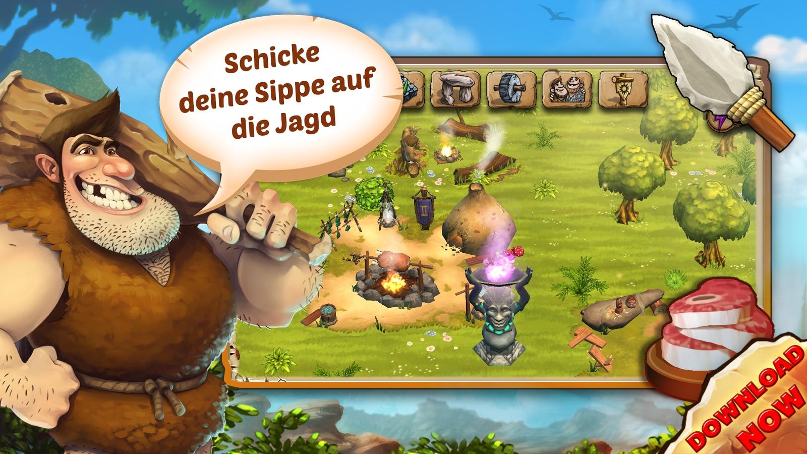 Höhlenmenschen Spiele