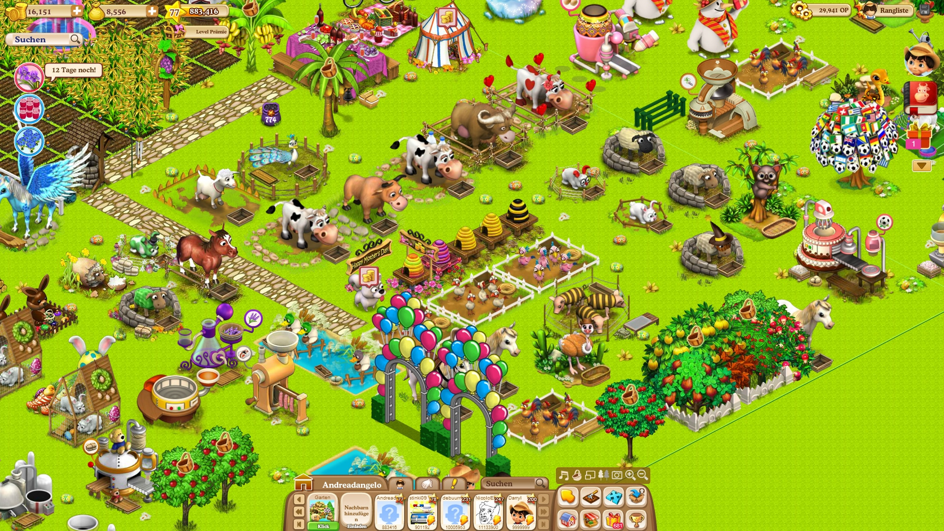 Jetztspielen De Dorfleben